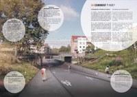 Passerelle cyclo-piétonne Toussaint - de Rivieren