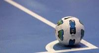 Ballon de foot en salle