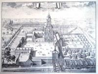 Ancien dessin de l'Abbaye de Dieleghem